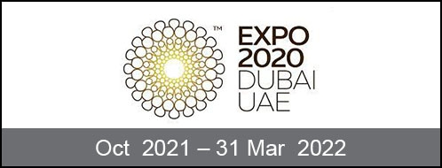 Dubai Expo 1 Oct 2021 - 31 Mar 2022